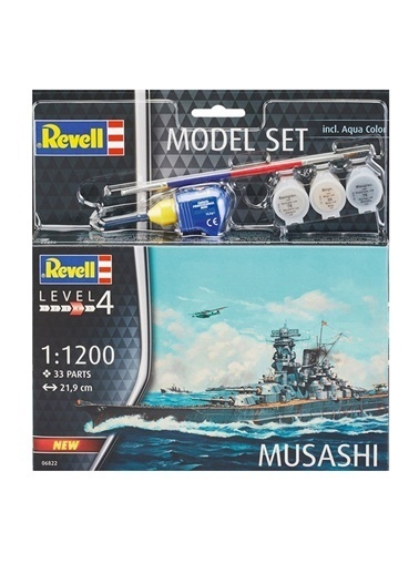 Revell  Maket Musashi 66822 Renkli
